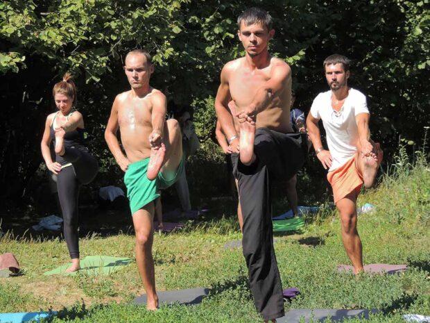 Open yoga classes in Voronezh